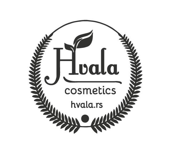 black hvala logo